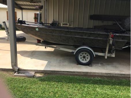 Boat, motor, trailer for sale