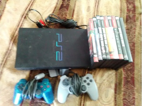Ps2 w/ 14 games